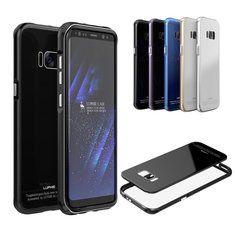 "[US$16.99] Luphie Metal Bumper+9H Tempered Glass Back Shell Case For Samsung S8 5.8""  #back #bumper9h #case #glass #luphie #metal #samsung #shell #tempered"