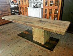 200 Jahre altes Holz  Eichenstamm= perfekt unperfekt #200jahrealt #eiche #amazingtable  #langertisch #ohneleim #rustikal #blog