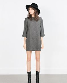 Image 1 of COMBINED PONTE DI ROMA DRESS from Zara
