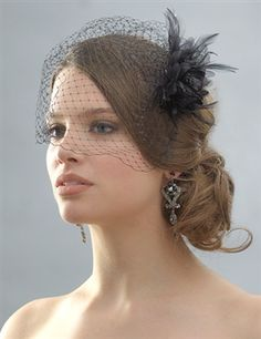 Bird Cage Veils For The Bridesmaids Too Cute Can T Wait