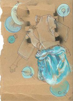 Fashion illustration by ~Sillyyellowrabbit on deviantART