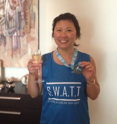 Well look.... who… not only RAN… but SURVIVED participating in the 10km leg of the Dubai marathon!  Great effort Lydia!