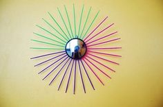 It's Made from What??!! Sunburst Mirror DIY Projects — Design Quiz