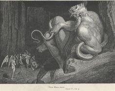 Inferno Canto 5 - Gustave Dore