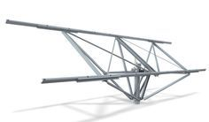 Single-axis solar tracker / for PV installations - SAFETRACK ...
