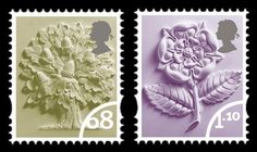 England Postage Stamps   England 68p, £1.10 Stamp(s) / BFDC