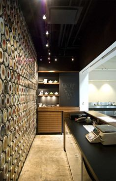 Great Wall Tea by Marianne Amodio Architecture Studio, River Market at Westminster Quay, BC, Canada