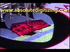 The process of #EmbroideryDigitizing at Absolute Digitizing
