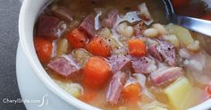 Ham and bean soup - CherylStyle