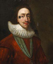 Portrait de Charles Ier réalisé dans les années 1630 par l'atelier de Daniel Mytens