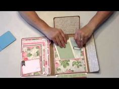 Dollhouse Bonus Project, Tim Holtz Small Folio