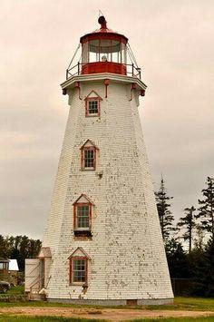 Panmure Island Lighthouse - Prince Edward Island, Canada.