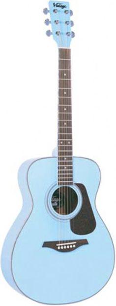 A Vintage V300 Folk Guitar  -  hartnollguitars.co.uk