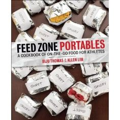 Need to buy this when it comes out; the first book is great!   Feed Zone Portables: A Cookbook of On-the-Go Food for Athletes