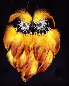 Owl dreamcatcher by violinphitsanulok