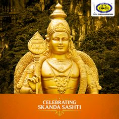 Skanda Sashti is observed in honour of Lord Muruga. May all your wishes come true and your life's deepest desires be fulfilled on this auspicious day! #PureDevotion