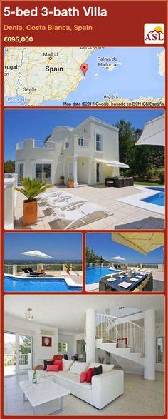 5-bed 3-bath Villa in Denia, Costa Blanca, Spain ►€695,000 #PropertyForSaleInSpain