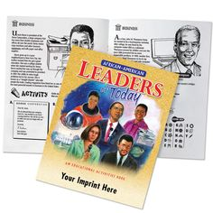 African-American Leaders Of Today Educational Activities Book