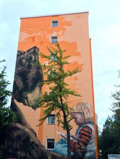 Berliński Street Art, kolejna odsłona / Berlin's Street Art another scene