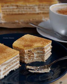 Ciasto śmietankowo-kawowe (bez pieczenia)