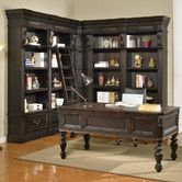 Found it at Wayfair - Grand Manor Palazzo 7 Piece Writing Desk and Bookcase