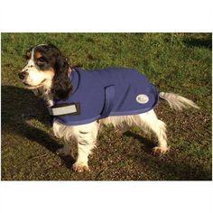 "BNIB Rhinegold Fleece Dog Coat Navy Blue sz 14"" Listing in the Clothing,Dogs,Pets,Home & Garden Category on eBid United Kingdom | 143278962"