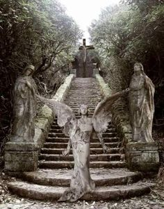 Cemetery Angels This is going into Legends only for that feeling you get whence you lay eyes on the silent guardian standing watch o'er misty moors
