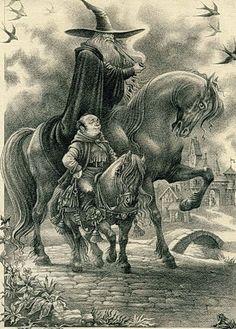 THE HOBBIT BY ROMAN PISAREV Jrr Tolkien, Gandalf, Legolas, High Fantasy, Medieval Fantasy, Walter Crane, Illustrations, Illustration Art, Edmund Dulac