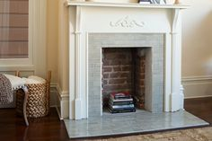 Fireplace Tile Design: From Our Kilns to Your Hearth House, Small Fireplace, Tile Design, Color Tile, Farmhouse Fireplace, Contemporary Family Rooms, Fireclay Tile, Fireplace, Fireplace Tile