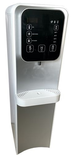 Silver and Black Office Water Cooler South Africa Water Stream - for home and office use Office Water Cooler, Water Filter Cartridge, Healthy Water, How To Remove Rust, Black Office, Water Coolers, Kitchen Taps, South Africa, Silver