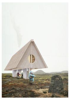 Fundamentals in Island - Ideenwettbewerb für Wanderhütten entschieden