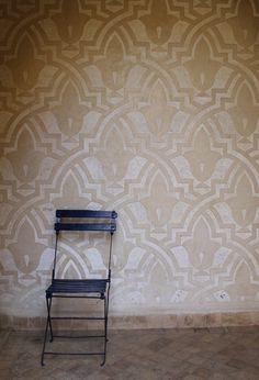 Gorgeous Patterned Wall in Marrakech | Via McAlpine Tankersley Architecture Blog
