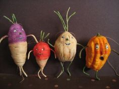 what is it with the veggie people? I love them!   MRCROWSGARDEN