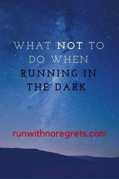 Don't let your guard down! Learn some tips on how to be safe when running in the dark - day or night! Fit Board Workouts, Fun Workouts, Running In The Dark, Letting Your Guard Down, Lets Move, Personal Safety, Health And Fitness Tips, Great Quotes, The Darkest