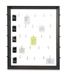 well, this isn't really what I wanted to pin -but it should take me to the picture of the frame that holds the rolls of gift wrapping paper - super cool!