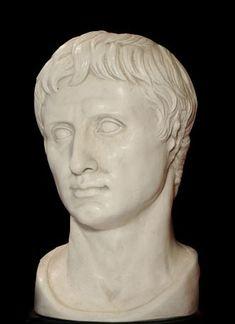 Augustus bust - Roman Emperor Octavian - Roman Emperors Collection - Roman and Etruscan - Civilization
