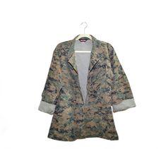 Vintage Digital Camo Jacket Camo Jacket Camo by founditinatlanta