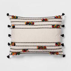 cute pom-pom pillow