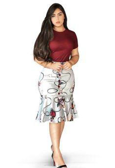 Office Dresses For Women, Cute Skirt Outfits, Latest African Fashion Dresses, Curvy Women Fashion, Modern Outfits, African Dress, Beautiful Outfits, Fashion Outfits, Book 1
