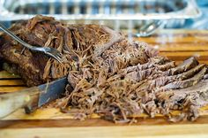 """Beef Brisket is a cut of meat from the chest of a bovine animal. There are different ways to cook brisket; """"The Southern Way"""" usually involves smoking the meat very slowly over several ho…"""