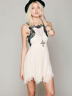 Free People Lace Dream Dress