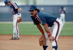 Mets First Baseman Keith Hernandez, circa March 1989.
