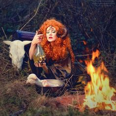 Fancy fairies come into life in charming pictures of Ukrainian photographer from Kiev Tatyana Nevmerzhytska. Fantasy characters from fairy tales are wonderfully embodied in colorful photographs.