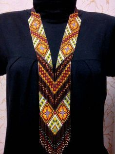 Traditional beaded necklace