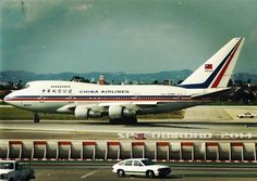 """""""My dad took this photo when we were waiting for a Southwest flight at LAX Terminal 1 back in the 1980s. Seen here is China Airlines Boeing 747SP [N4522V] about to takeoff for Taipei, Taiwan."""" #ThrowbackThursday [PIC] @spdbrhd"""