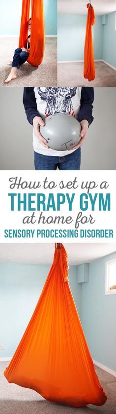 How to set up a therapy gym at home for sensory processing disorder