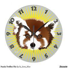 Panda Treffen Uhr