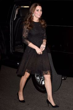 Kate Middleton Last Public Appearance Before Royal Baby Arrives - Duchess of Cambridge Maternity Fashion