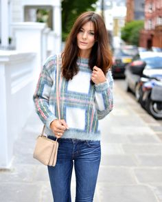 New mohair knit by Stella McCartney #plaid