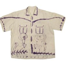 Pablo Picasso Shirt Edited by Bruno Compagnon circa 1955 France - French Shirt - Ideas of French Shirt - Pablo Picasso Shirt Edited Bruno Compagnon Circa 1955 France French Linen